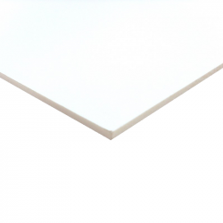 PVC Expansé Blanc 5mm