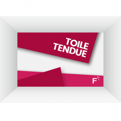 Toile tendue (sans finitions)